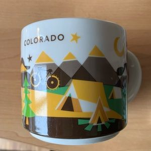 Starbucks Wish You Were Here Colorado Mug